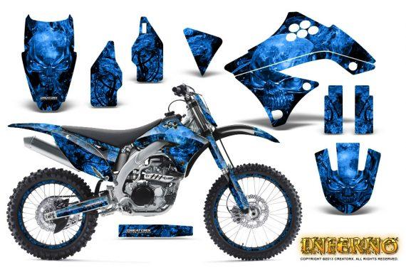Kawasaki KX450F 09 11 CreatorX Graphics Kit Inferno Blue NP Rims 570x376 - Kawasaki KX450F 2009-2011 Graphics