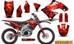 Kawasaki KX450F 09 11 CreatorX Graphics Kit Inferno Red NP Rims 150x90 - Kawasaki KX450F 2009-2011 Graphics