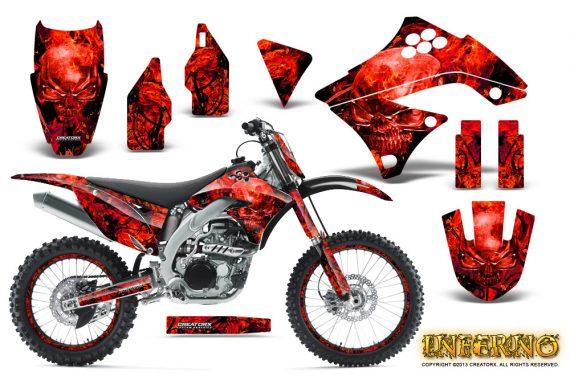 Kawasaki KX450F 09 11 CreatorX Graphics Kit Inferno Red NP Rims 570x376 - Kawasaki KX450F 2009-2011 Graphics