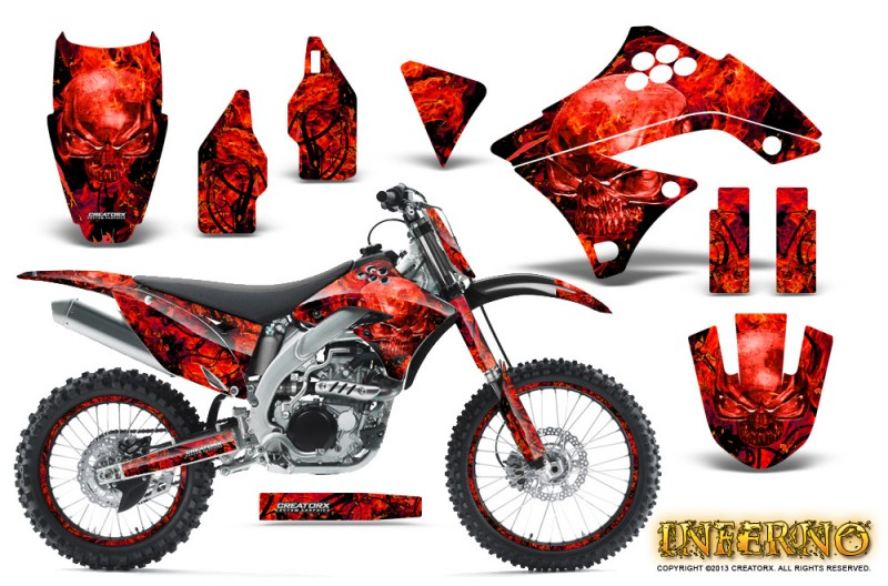 Kawasaki-KX450F-09-11-CreatorX-Graphics-Kit-Inferno-Red-NP-Rims