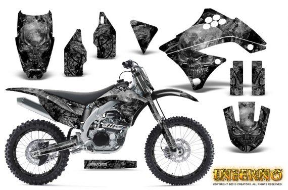 Kawasaki KX450F 09 11 CreatorX Graphics Kit Inferno Silver NP Rims 570x376 - Kawasaki KX450F 2009-2011 Graphics