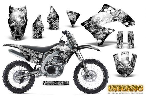 Kawasaki KX450F 09 11 CreatorX Graphics Kit Inferno White NP Rims 570x376 - Kawasaki KX450F 2009-2011 Graphics
