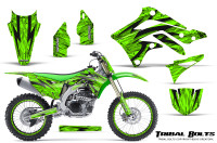 Kawasaki-KX450F-2012-2015-CreatorX-Graphics-Kit-Tribal-Bolts-Green-NP-Rims