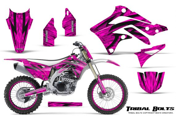 Kawasaki-KX450F-2012-2015-CreatorX-Graphics-Kit-Tribal-Bolts-Pink-NP-Rims