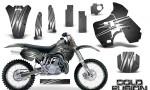 Kawasaki KX500 88 04 CreatorX Graphics Kit Cold Fusion Silver NP Rims 150x90 - Kawasaki KX500 1988-2004 Graphics