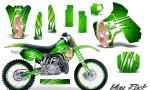 Kawasaki KX500 88 04 CreatorX Graphics Kit You Rock Green NP Rims 150x90 - Kawasaki KX500 1988-2004 Graphics