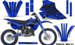 Kawasaki KX80 KX100 95 97 CreatorX Graphics Kit Tribal Bolts Blue Rims 150x90 - Kawasaki KX80 KX100 1995-1997 Graphics