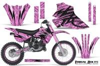 Kawasaki-KX80-KX100-95-97-CreatorX-Graphics-Kit-Tribal-Bolts-PinkLite-Rims