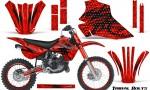 Kawasaki KX80 KX100 95 97 CreatorX Graphics Kit Tribal Bolts Red Rims 150x90 - Kawasaki KX80 KX100 1995-1997 Graphics