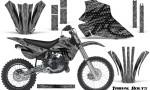 Kawasaki KX80 KX100 95 97 CreatorX Graphics Kit Tribal Bolts Silver Rims 150x90 - Kawasaki KX80 KX100 1995-1997 Graphics