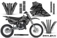 Kawasaki-KX80-KX100-95-97-CreatorX-Graphics-Kit-Tribal-Bolts-Silver-Rims