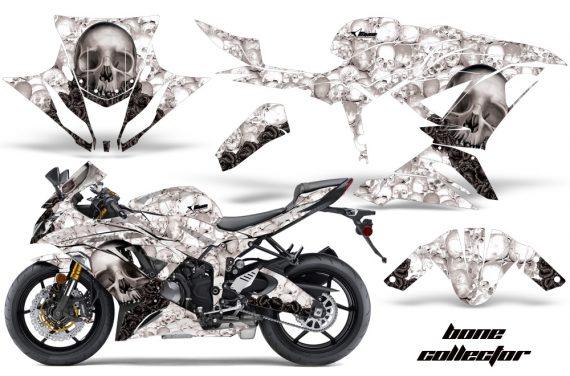 Kawasaki Ninja 636ZX 6R 13 14 AMR Graphics Kit Wrap BC W 570x376 - Kawasaki Ninja 636 ZX6-R Ninja 2013-2014 Graphics
