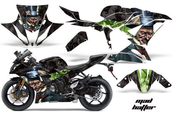 Kawasaki Ninja 636ZX 6R 13 14 AMR Graphics Kit Wrap MH GB 570x376 - Kawasaki Ninja 636 ZX6-R Ninja 2013-2014 Graphics