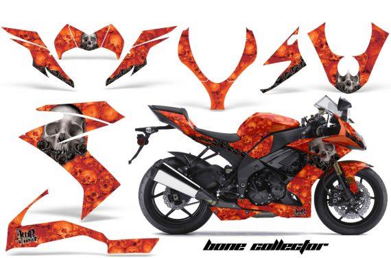 Kawasaki Ninja Bones O 570x376 - Kawasaki ZX10 Ninja 2008-2009 Graphics