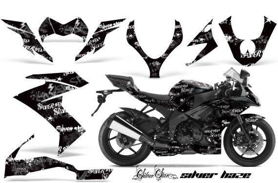 Kawasaki Ninja Silverhaze B 570x376 - Kawasaki ZX10 Ninja 2008-2009 Graphics