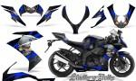 Kawasaki Ninja ZX10 Skulls n Bolts Solid Blue Black 150x90 - Kawasaki ZX10 Ninja 2008-2009 Graphics