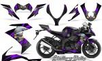 Kawasaki Ninja ZX10 Skulls n Bolts Solid Purple Black 150x90 - Kawasaki ZX10 Ninja 2008-2009 Graphics
