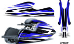 Kawasaki SX R800 Graphic Kit Attack Blue 150x90 - Kawasaki 800 SX-R Jet Ski 2003-2012 Graphics