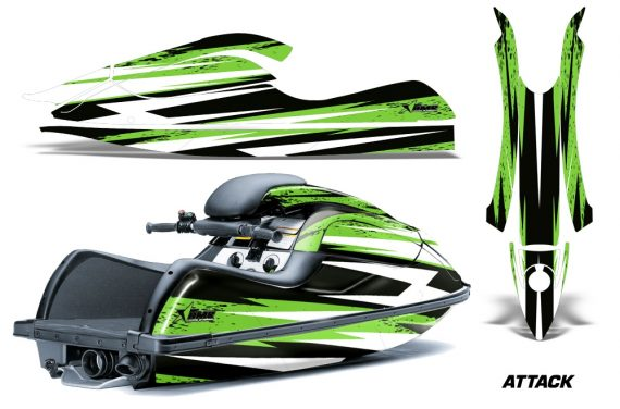 Kawasaki SX R800 Graphic Kit Attack Green 570x376 - Kawasaki 800 SX-R Jet Ski 2003-2012 Graphics