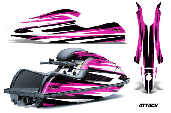 Kawasaki SX R800 Graphic Kit Attack Pink 570x376 - Kawasaki 800 SX-R Jet Ski 2003-2012 Graphics
