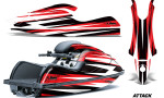 Kawasaki SX R800 Graphic Kit Attack Red 150x90 - Kawasaki 800 SX-R Jet Ski 2003-2012 Graphics