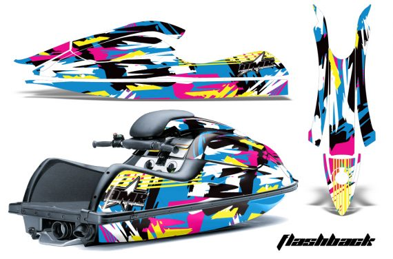 Kawasaki SX R800 Graphic Kit FLASHBACK 570x376 - Kawasaki 800 SX-R Jet Ski 2003-2012 Graphics