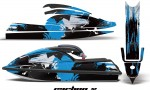 Kawasaki SX750 92 98 AMR Graphics Kit Carbonx Light Blue 150x90 - Kawasaki 750 SX SXR Jet Ski 1992-1998 Graphics