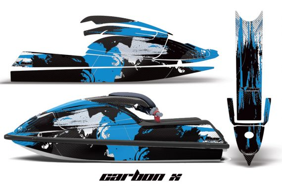 Kawasaki SX750 92 98 AMR Graphics Kit Carbonx Light Blue 570x376 - Kawasaki 750 SX SXR Jet Ski 1992-1998 Graphics