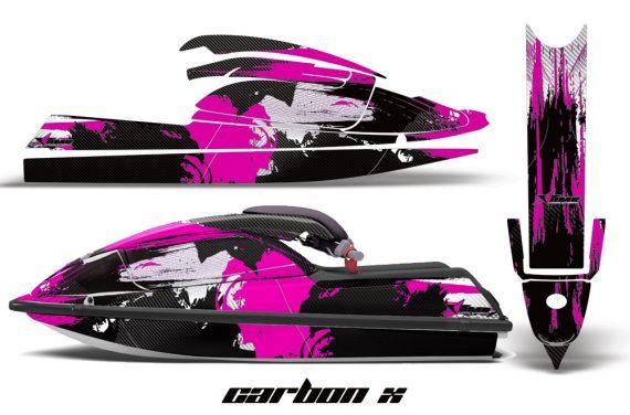 Kawasaki SX750 92 98 AMR Graphics Kit Carbonx Pink 570x376 - Kawasaki 750 SX SXR Jet Ski 1992-1998 Graphics