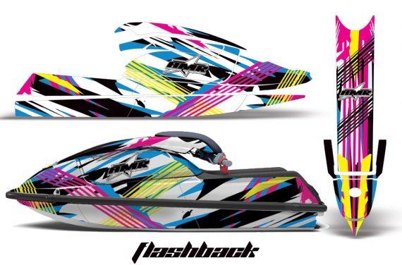 Kawasaki SX750 92 98 AMR Graphics Kit Flashback 570x376 - Kawasaki 750 SX SXR Jet Ski 1992-1998 Graphics