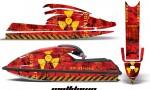 Kawasaki SX750 92 98 AMR Graphics Kit Meltdown YR 150x90 - Kawasaki 750 SX SXR Jet Ski 1992-1998 Graphics