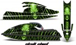 Kawasaki SX750 92 98 CreatorX Graphics Kit Skull Chief Green 150x90 - Kawasaki 750 SX SXR Jet Ski 1992-1998 Graphics