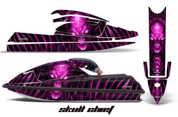 Kawasaki SX750 92 98 CreatorX Graphics Kit Skull Chief Pink 570x376 - Kawasaki 750 SX SXR Jet Ski 1992-1998 Graphics