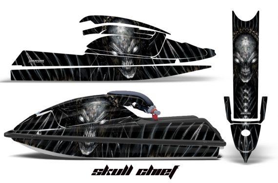 Kawasaki SX750 92 98 CreatorX Graphics Kit Skull Chief Silver 570x376 - Kawasaki 750 SX SXR Jet Ski 1992-1998 Graphics