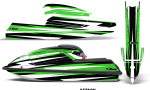 Kawasaki SX750 92 98 Graphics Kit Attack Green 150x90 - Kawasaki 750 SX SXR Jet Ski 1992-1998 Graphics