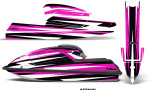 Kawasaki SX750 92 98 Graphics Kit Attack Pink 150x90 - Kawasaki 750 SX SXR Jet Ski 1992-1998 Graphics