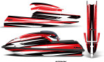 Kawasaki SX750 92 98 Graphics Kit Attack Red 150x90 - Kawasaki 750 SX SXR Jet Ski 1992-1998 Graphics