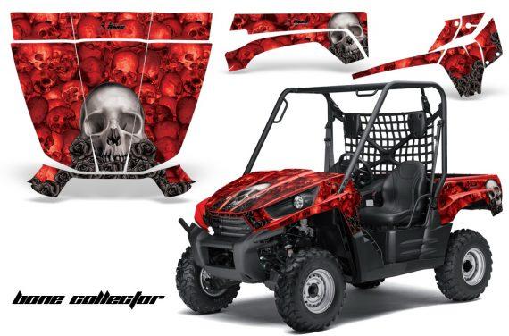 Kawasaki Teryx 2010 AMR Graphics Kit BoneCollector RED 570x376 - Kawasaki Teryx 750 2010-2012 Graphics