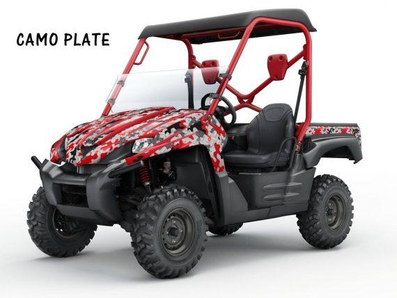 Kawasaki Teryx AMR Graphics Kit camoplate red 570x428 - Kawasaki Teryx 750 2007-2009 Graphics