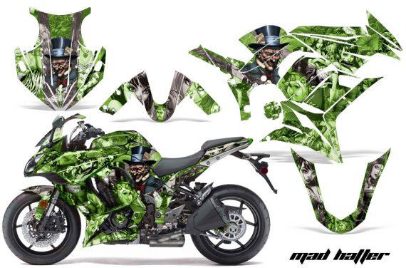 Kawasaki ZX 1000 10 13 AMR Graphics Kit Wrap MadHatter G S 570x376 - Kawasaki ZX1000 Ninja 2010-2013 Graphics