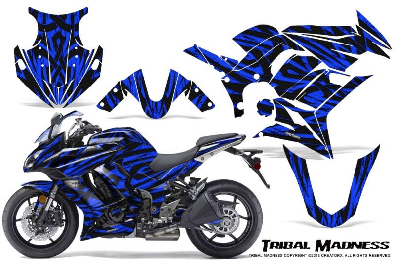Kawasaki-ZX-1000-10-13-CreatorX-Graphics-Kit-Tribal-Madness-Blue