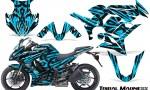 Kawasaki ZX 1000 10 13 CreatorX Graphics Kit Tribal Madness BlueIce 150x90 - Kawasaki ZX1000 Ninja 2010-2013 Graphics