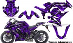 Kawasaki ZX 1000 10 13 CreatorX Graphics Kit Tribal Madness Purple 150x90 - Kawasaki ZX1000 Ninja 2010-2013 Graphics