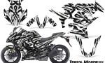 Kawasaki ZX 1000 10 13 CreatorX Graphics Kit Tribal Madness White 150x90 - Kawasaki ZX1000 Ninja 2010-2013 Graphics