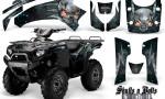 Kawasaki Brute Force 750 CreatorX Graphics Kit Skulls n Bolts Metal BlueIce Black 150x90 - Kawasaki Brute Force 750i-750 2004-2011 Graphics