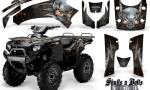 Kawasaki Brute Force 750 CreatorX Graphics Kit Skulls n Bolts Metal Orange Black 150x90 - Kawasaki Brute Force 750i-750 2004-2011 Graphics