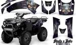 Kawasaki Brute Force 750 CreatorX Graphics Kit Skulls n Bolts Metal Purple Black 150x90 - Kawasaki Brute Force 750i-750 2004-2011 Graphics