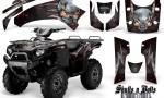 Kawasaki Brute Force 750 CreatorX Graphics Kit Skulls n Bolts Metal Red Black 150x90 - Kawasaki Brute Force 750i-750 2004-2011 Graphics