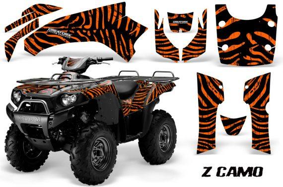 Kawasaki Bruteforce 750 Graphics Kit ZCamo Orange 570x376 - Kawasaki Brute Force 750i-750 2004-2011 Graphics