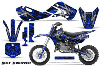 Kawasaki KLX110 KX65 Graphics Kit Bolt Thrower Blue 320x211 - Kawasaki KX65 2002-2017 Graphics